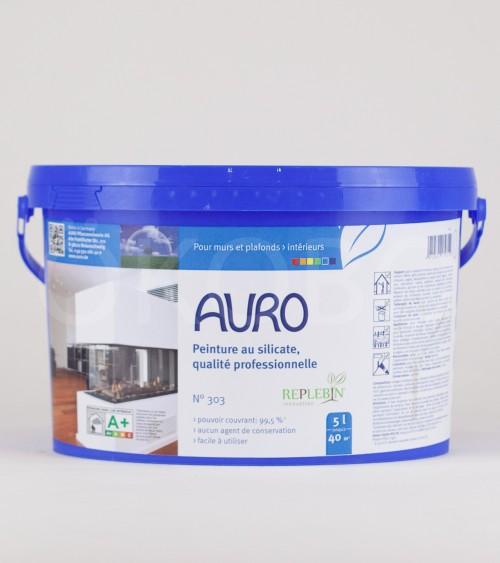 Peinture au silicate qualité professionnelle N°303 5l - AURO