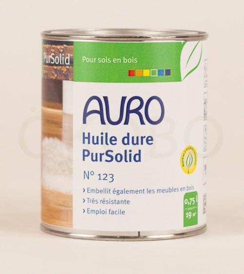 Huile dure PurSolid N°123 - 0,75l - AURO