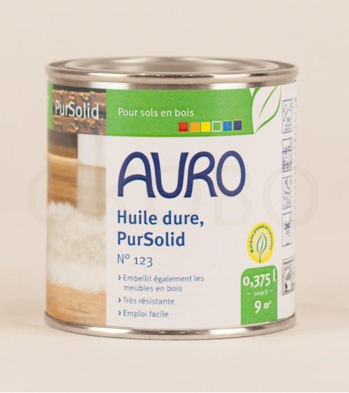 Huile dure PurSolid N°123 - 0,375l - AURO