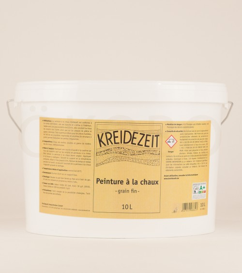 Peinture à la chaux Grain fin - KREIDEZEIT - 10L