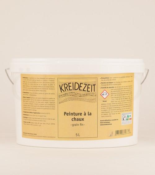Peinture à la chaux Grain fin - KREIDEZEIT - 5L