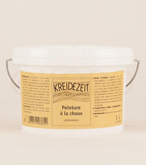 Peinture à la chaux Grain fin - KREIDEZEIT - 1L