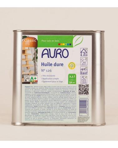 Huile dure N°126 - AURO - 2,5l