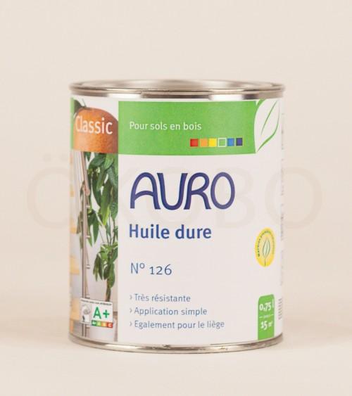 Huile dure N°126 - AURO - 0,75l