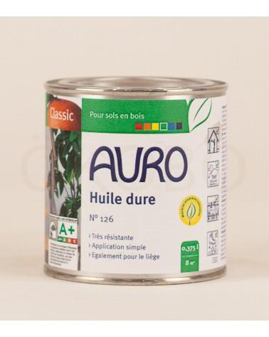Huile dure N°126 - AURO - 0,375l
